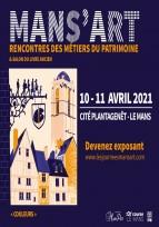 Mans'Art – Rencontres des métiers du patrimoine 9ème édition