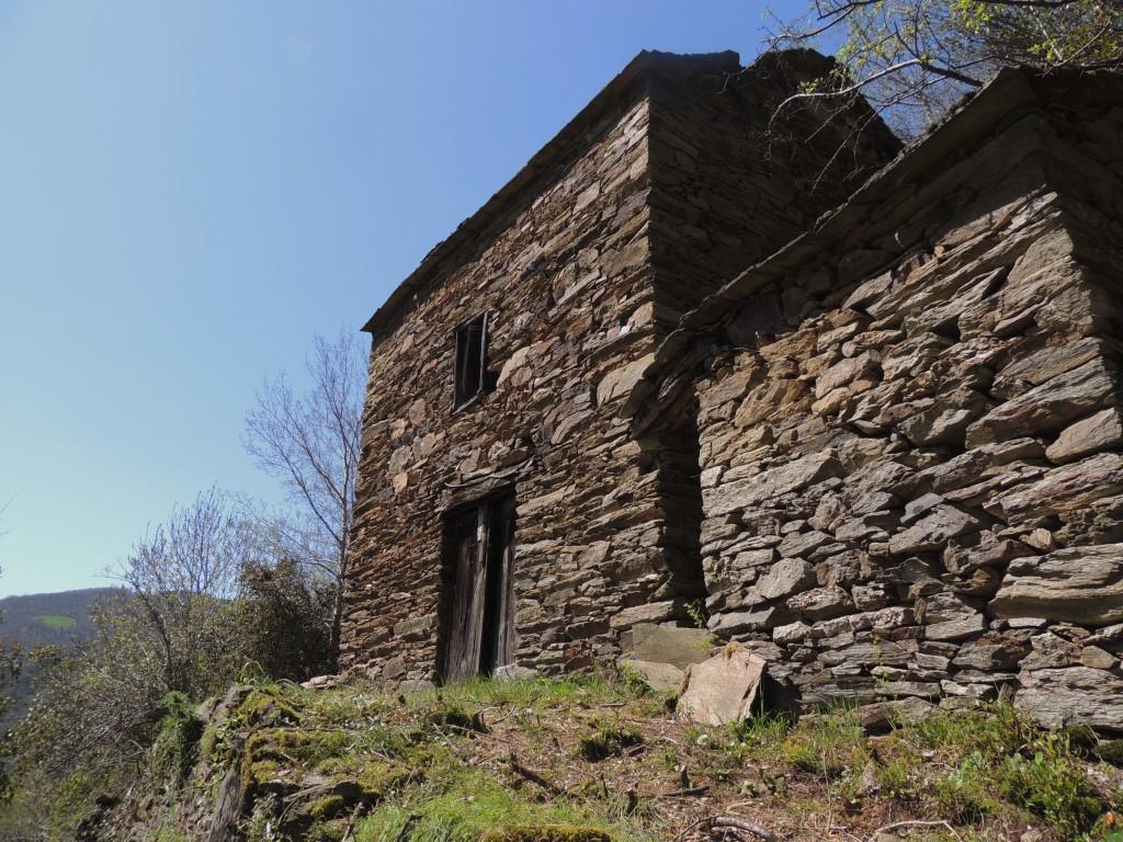 vielle maison en schiste